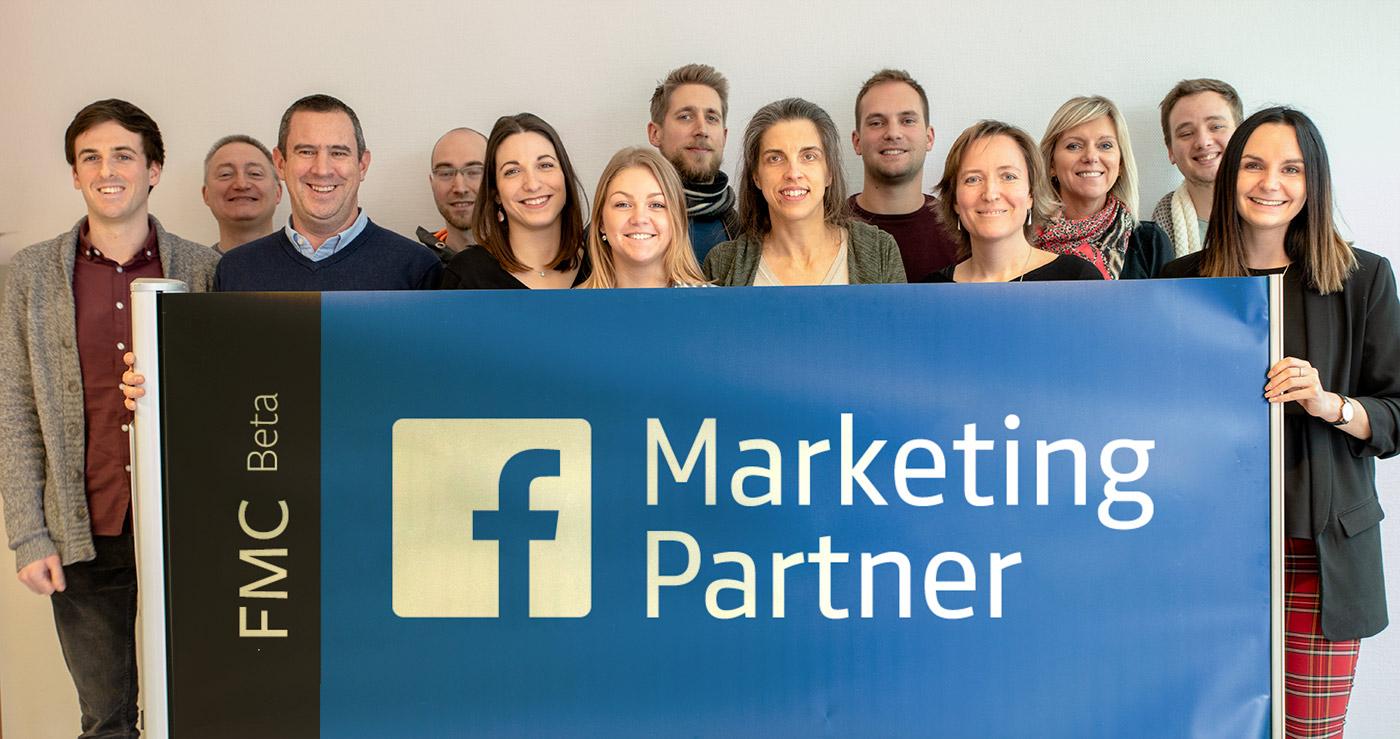 Knewledge Facebook marketing partner Belgique Luxembourg