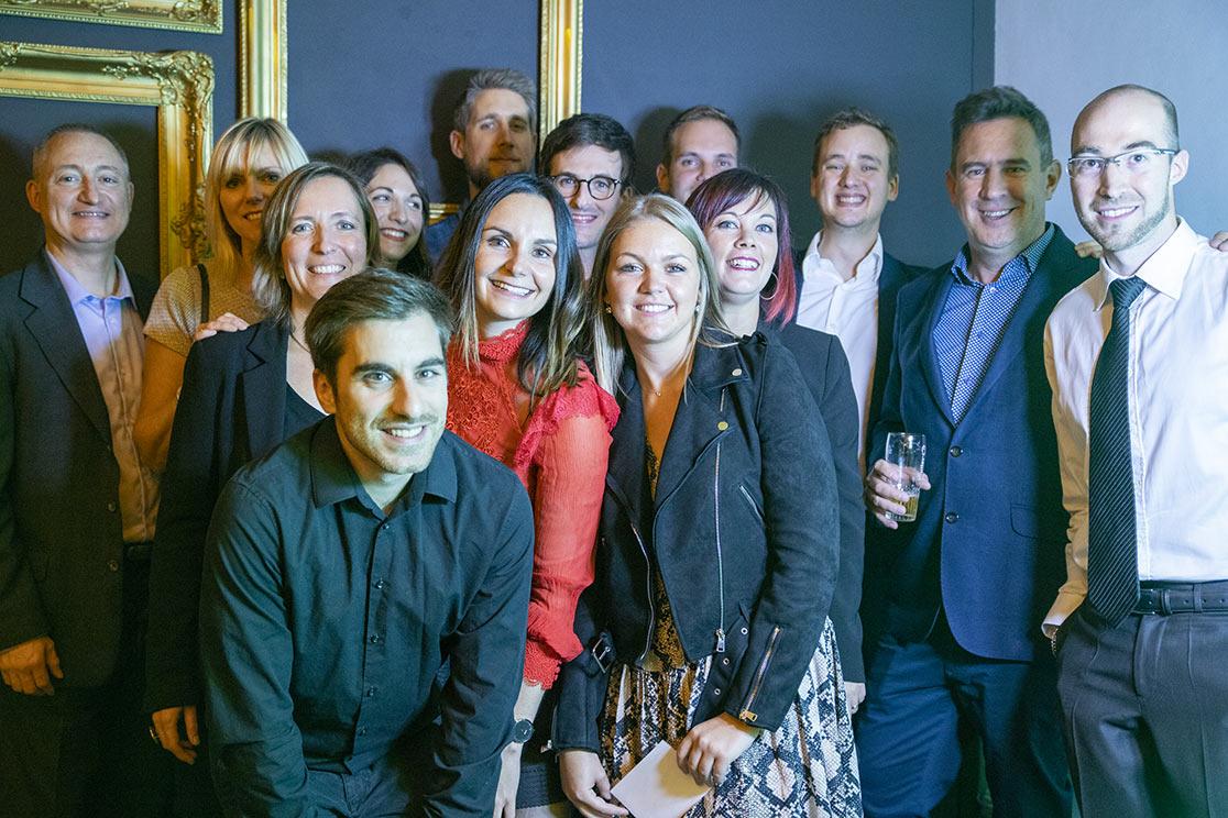 L'équipe de l'agence de Marketing Digital Knewledge